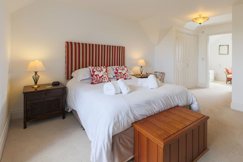 Bedroom at Hillside Cottage Padstow
